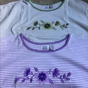 Bundle of Embroidered Tees